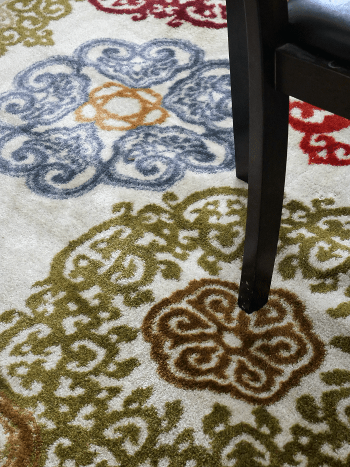 STAINMASTER Colorful Lace Medallions Area Rug
