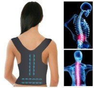 Bennoti Magnetic Posture Support Corrector Back Pain Feel Young Belt Brace Shoulder Fast Shipping and Ship Worldwide