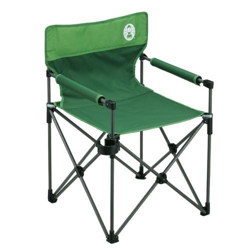 【Coleman】(コールマン) カップホルダー付きスリムチェア(グリーン) 【アウトドアチェア 椅子 イス】 P25Apr15