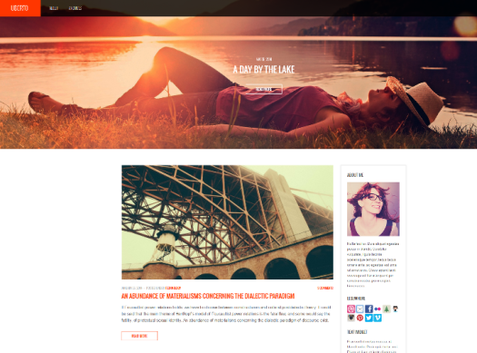 uberto wordpress theme