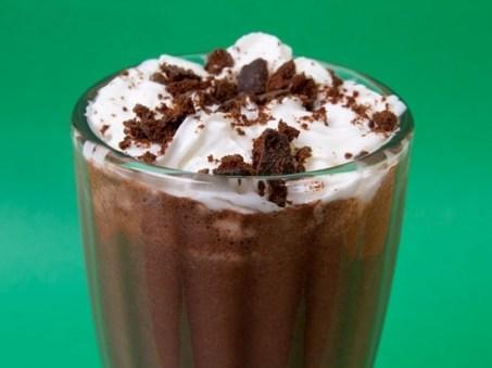Spiked Thin Mint Milkshake