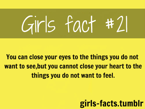 girls facts & relatable posts