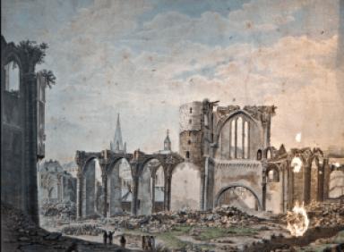 De heilige Petrus Julianus Eymard te Sleihage Hooglede destruction du cathédrale du Liege johan persyn