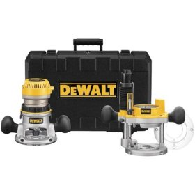 DEWALT DW618PK Plunge and Fixed-Base Router