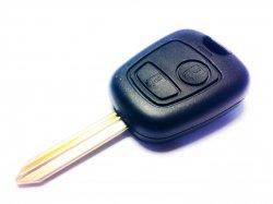 Citroen бланк ключ 2 кнопки SX9