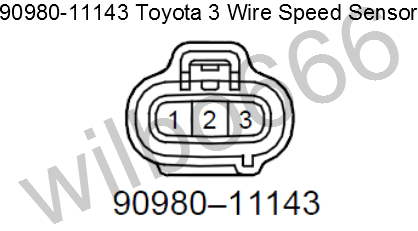 vss wire diagram wiring diagramtoyota speed sensor \\u2013 shoarmateamto the speed sensor, the below plug image does not show the pin out of the sensor, it shows the pin out of the plug