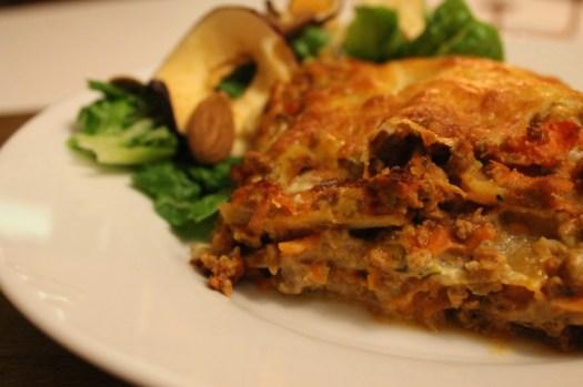 Økologisk lasagne