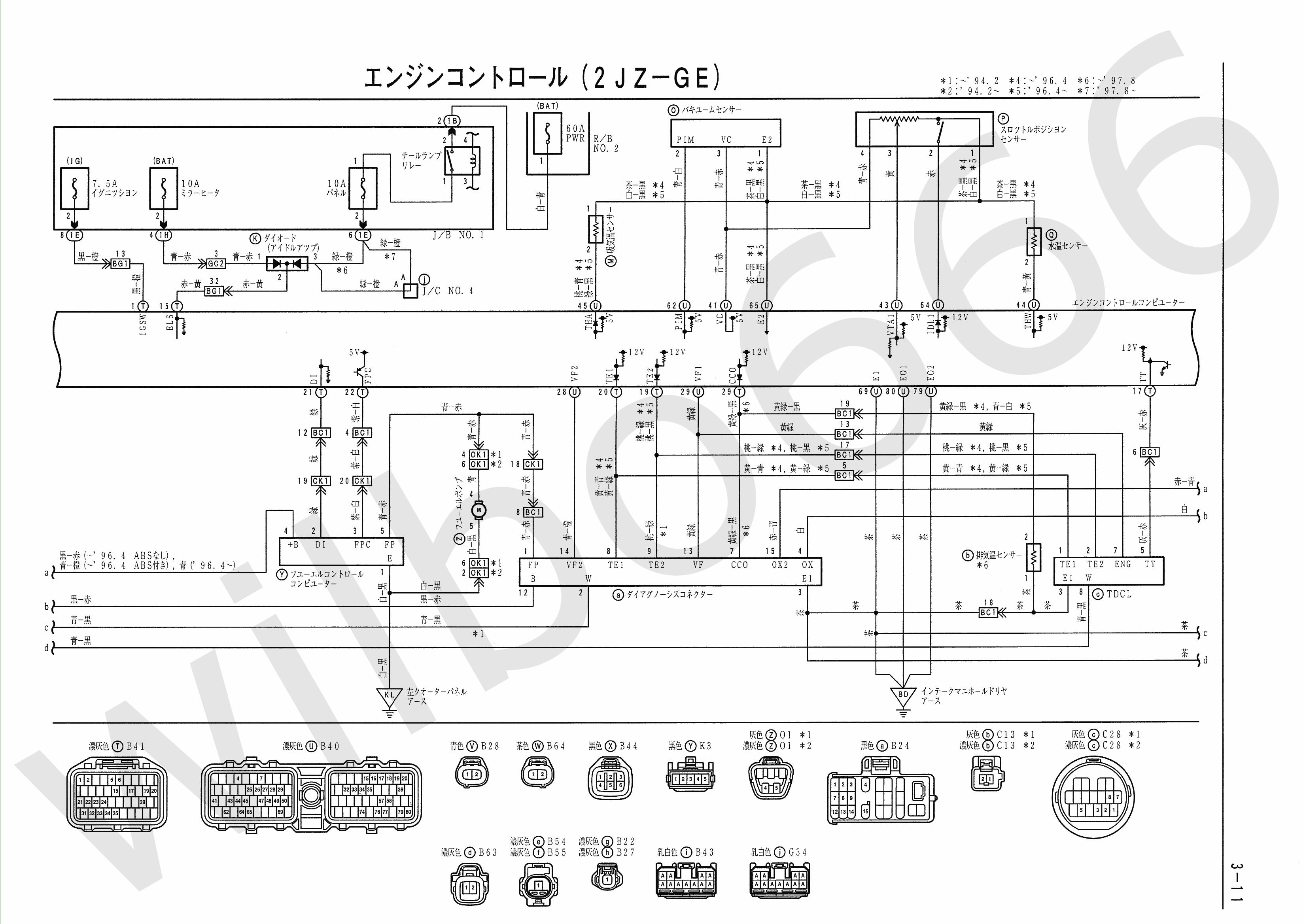 2jz Gte Wiring Harness Pin 45b | Wiring Diagram