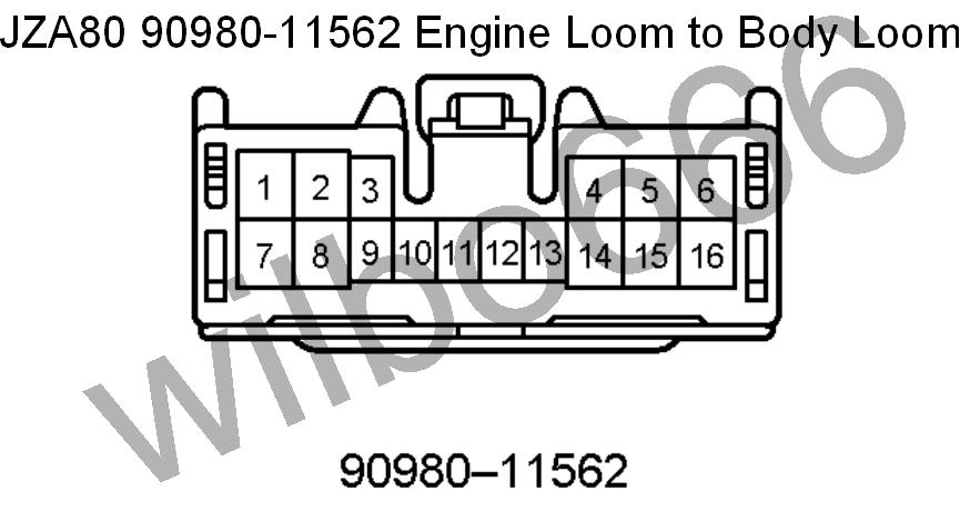 2JZ-GE to JZA80 Engine wiring – Shoarmateam