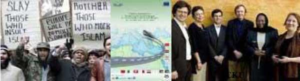 Conspirators, EU academics, trade unions,international finance, ngo's, humanitarians