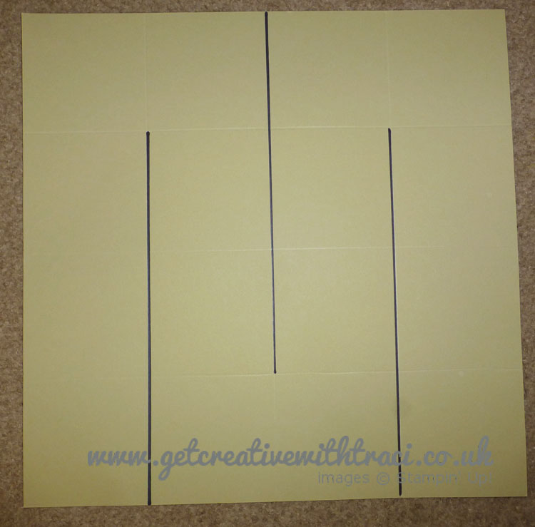 One Sheet Wonder 8 Pocket Mini Album where to Cut