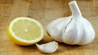 الليمون والثوم