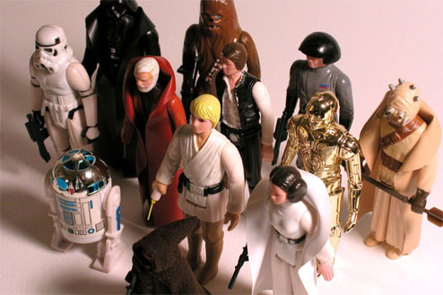 Kenner's first Star Wars action figure line
