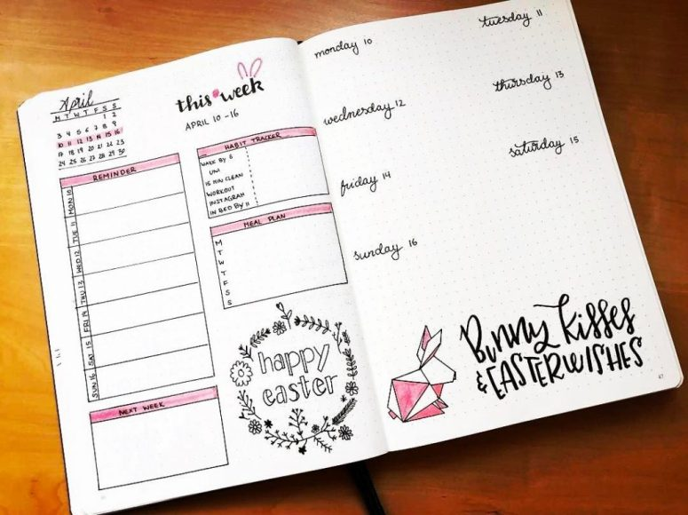 Simplify your life by using any one of these Bullet Journal Weekly Spreads | Zen of Planning | Planner Peace and Inspiration
