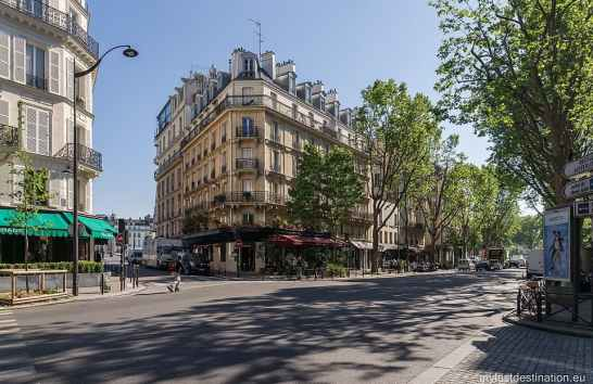 Boulevard Saint Germain in Paris
