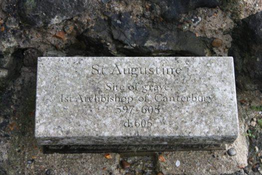 St Augustine's Grave