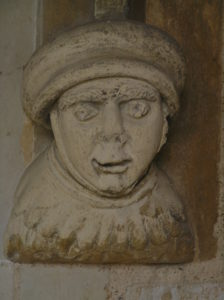 Medieval face