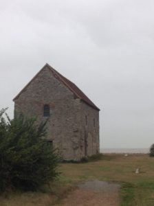St Peter's church, Bradwell. Built by St Cedd