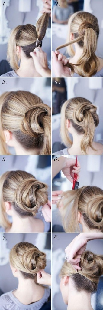 How To Do Vintage Hairstyles Messy Bun