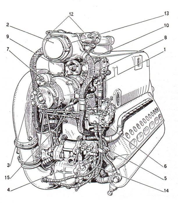 Due viste dell''Alfa Romeo R.A.1000 R.C.41 versione su licenza del Daimler Benz 601A
