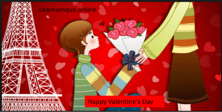 Happy Valentine's Day to all couples and singles :)