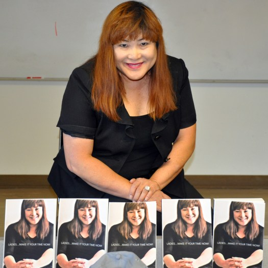 Mia Fujii and her books
