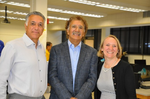 Dean Golshani, Mario Cordero, and Nicole Forrest Boggs