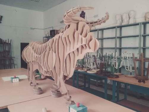 Escultura aplicada al Espectáculo
