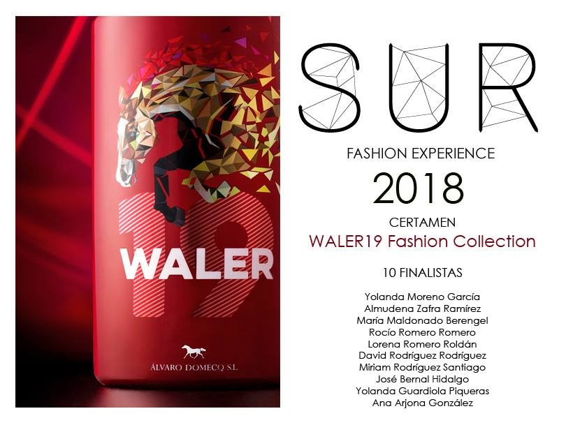 finalistas en la primera edición del certamen waler19 fashion collection de la sur fashion experience 2018