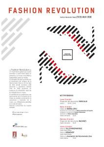 La Escuela de Arte organiza actividades participando del movimiento Fashion Revolution