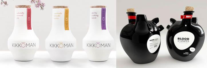 25のクリエイティブなボトルデザイン