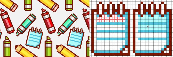 Adobe Illustratorでのピクセルアート(ドット絵)アイコンの作り方