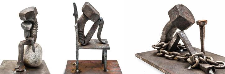 ボルトの詩 - Jernmalmメタルアート
