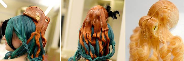 リアルで魅惑的なタコであなたの髪に海をもたらしてください