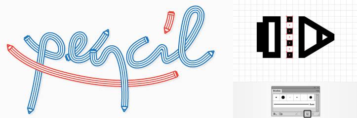 クイックピック:Adobe Illustratorで鉛筆パターンブラシを作成する方法