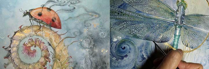 水彩画のおとぎ話と夢 By Stephanie Pui-Mun Law
