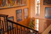 Escalera principal interior