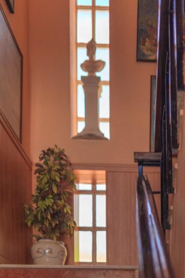 Escaleras principal interior