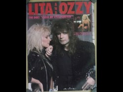 Ozzy Osbourne and Lita Ford: Close my eyes forever