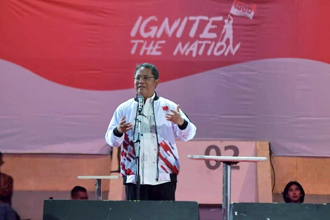 kominfo rudiantara wapres ignite the nations 2 - Bawa Perubahan dan Solusi, Generasi Muda Bisa Majukan Ekonomi Indonesia