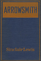 'Arrowsmith' by Sinclair Lewis book cover