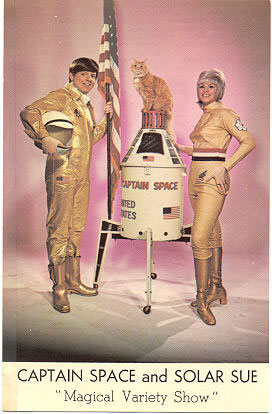 Captain Space & Solar Sue