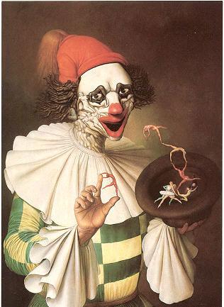 Le Magicien Clown