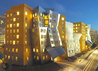 Edificio diseñado por F. Gehry