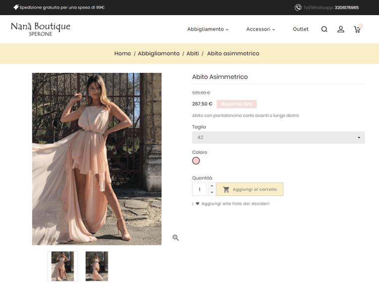 creazione-sito-web-ecommerce-online-abbigliamento-nana-boutique-sperone-pagina-prodotto
