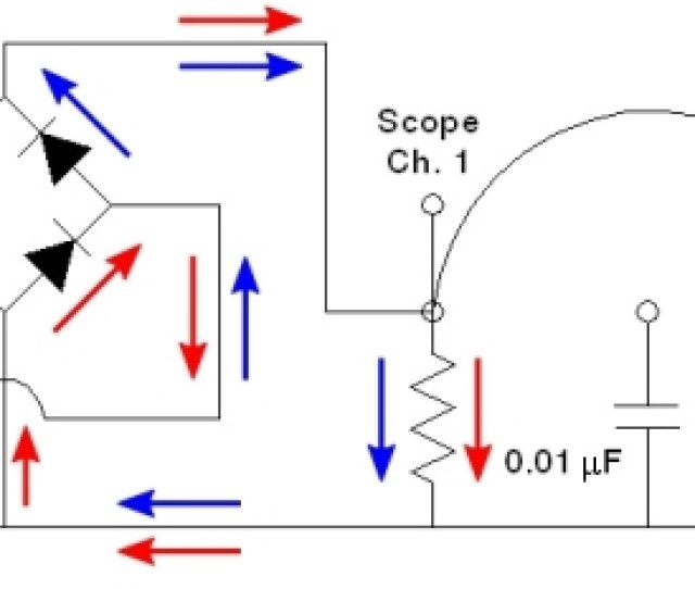 Scope Channel Three Measures The Voltage Across The Source Subtracting The Voltage At Channel Two From That At Channel One By Means Of The Math Function