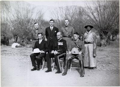 La mission britannique à Lhassa en 1936 © Tibet Album