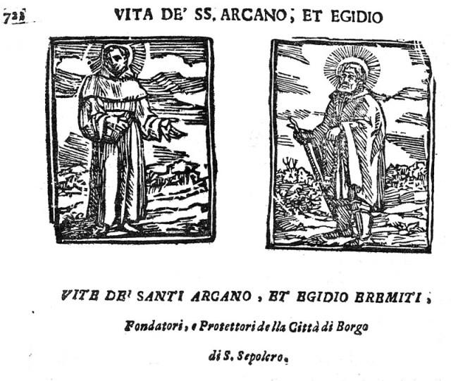 Risultati immagini per santi egidio e arcano