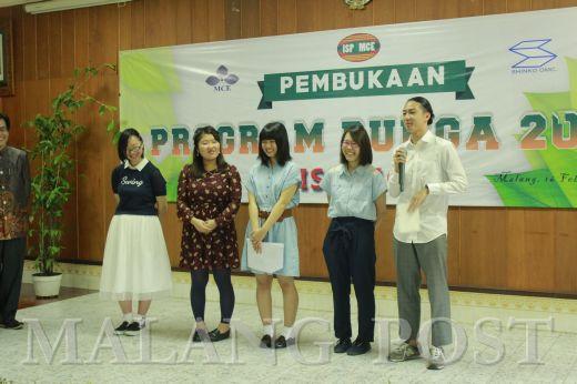 Penerimaan Mahasiswa Jepang Program Bunga 2016 ISP MCE