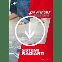 Scarica il catalogo dei Sistemi Radianti Pleion